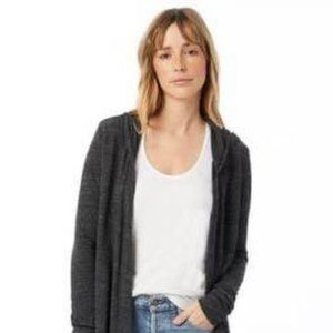 Alternative Apparel Warm Up Eco Jersey Hooded Wrap